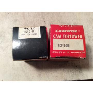 2-MCGILL  /bearings # CCF 2 SB ,30 day warranty, free shipping lower 48!