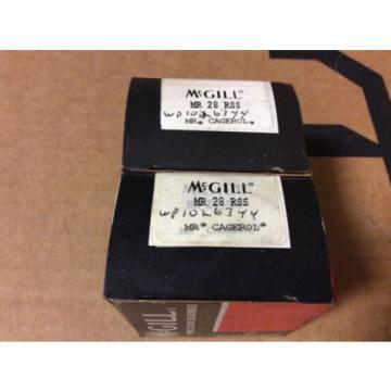 2-McGILL bearings#MR 28 RSS ,Free shipping lower 48, 30 day warranty!