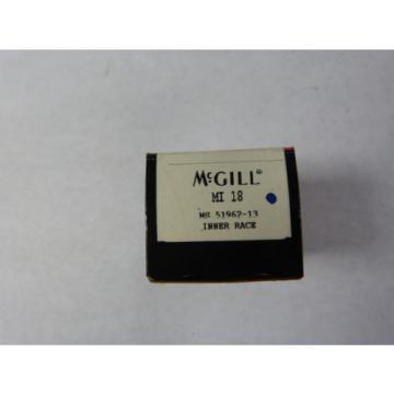 "Mcgill MI-18 Inner Race Bearing 1-1/8x 1.26"" ! NEW !"