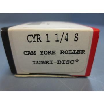 "1 Nib McGill CYR-1-1/4-S Cam Yoke Roller Dia 1.2500"" Width .8125"" Bore .3750"""