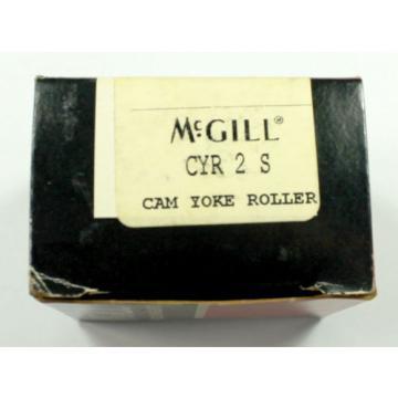 "McGill CYR2S Cam Yoke Roller 2"" Dia 3/4"" Bore"