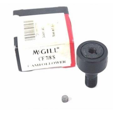NIB MCGILL CF 7/8 S CAM FOLLOWER CF-7/8-S