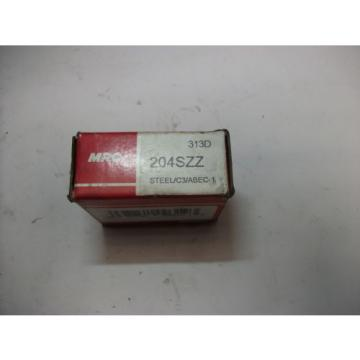MRC Steel Bearings (204SZZ)