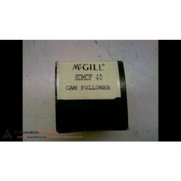 MCGILL SDMCF 40 CAM FOLLOWER, NEW #164131