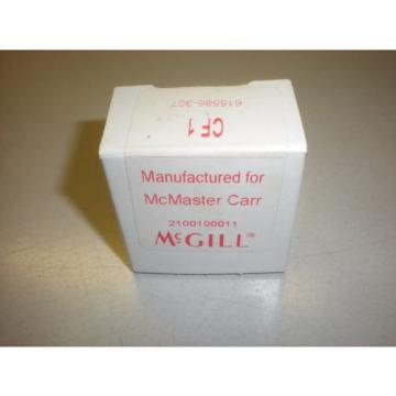 McGill Model CF1 Cam Follower - Stud Type - Flat - NIB