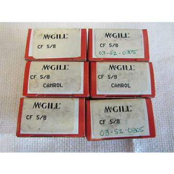 MCGILL CF 5/8 CAMROL (6 PCS)