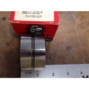 "NEW 3PCS  McGILL MR-26 CAGEROL BEARINGS, 1-5/8"" X 2-3/16"" X 1-1/4""  BB"
