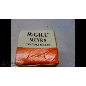 MCGILL MCYR8 ROLLER PERCISION BEARINGS OD 1 INCH ID 3/8 INCH WIDTH 1/4,  #163777