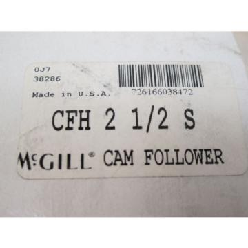 "2 pcs.,  McGILL,  CFH 2 1/2 S,  CAM FOLLOWERS,  2 1/2"" STUD TYPE"