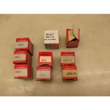 #135  >Mixed LOT of 9<  McGill  CFH-1 (x3)  MCFRE-16-SB (x1)  CF-1/2 (x2) ....