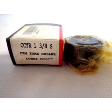 NEW MCGILL CCYR-1-3/8 S CAM YOKE ROLLER BEARING