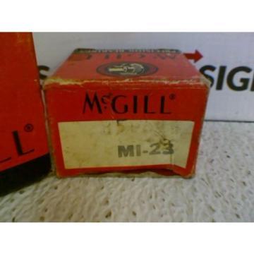 "NEW! McGill MI-23 Inner Race Ball Bearing Bore: 1-6/16"" * Lot of 2*"