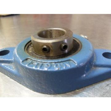 McGill MB 25-7/8  2- bolt flange bearing  2 set screws- zirk Made in USA