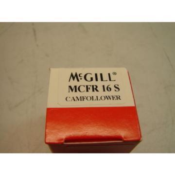 MCGILL MCFR 16 S CAMFOLLOWER PRECISION BEARINGS (LOTS OF 2)  **NIB**