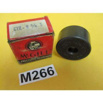 "Two (2) McGill CYR 1 5/8 S CAM YOKE ROLLER BEARING 1.625"" ROLLER, .4375"" BORE"