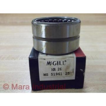 McGill MR 26 McGill Caged Roller Bearing