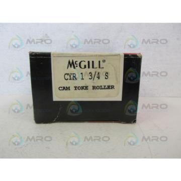 MCGILL CYR-1-3/4-S CAM YOKE ROLLER BEARING *NEW IN BOX*