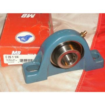 MB MCGILL C-25-1-1/4 NYLA-K PILLOW BLOCK BEARING C2511/4