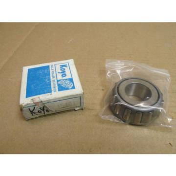 "NIB KOYO 15101 TAPERED ROLLER BEARING 15101 1"" BORE NEW"