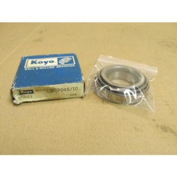 NIB KOYO LM67048/LM67010 SET TAPERED ROLLER BEARING & CUP/RACE SET