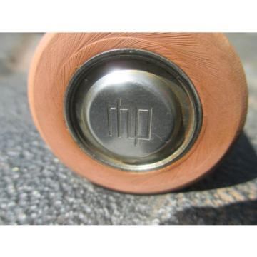 "Industrial Plain Bearing RHP  530TQO780-2  rubber coated bearing idler roller 1.5"" OD w/  treaded stud shielded bearing"