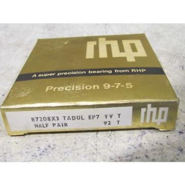 Belt Bearing Fafnir  500TQO640A-1  RHP7208 B7208X3 TADUL EP7 Super Precision Bearing