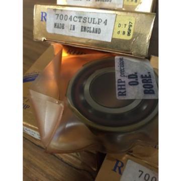 Belt Bearing RHP  635TQO900-1  7004CTSULP4 Super Precision ANGULAR CONTACT BEARING
