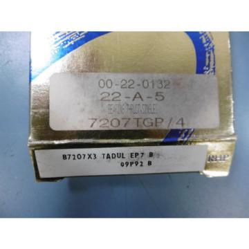 Industrial Plain Bearing 2  480TQO678-1  Sealed RHP 7207 TGP/4 Thrust Bearing B7207x3 TADUL EP7 B