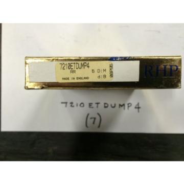 Belt Bearing RHP  EE665231D/665355/665356D  7210ETDUMP4 Bearing New in Box