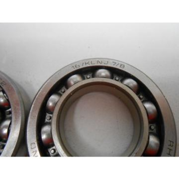 """Inch Tapered Roller Bearing RHP  558TQO965A-1  Single Row Bearing 16/KLNJ7/8  """"Lot of 2"""""""