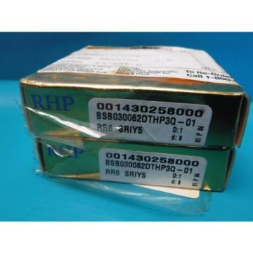 Roller Bearing NEW  680TQO870-1   RHP BSB030062DTHP3Q-01 SUPER PRECISION BEARINGS