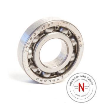 "Industrial Plain Bearing RHP  670TQO980-1  KLNJ-1/2 DEEP GROOVE BALL BEARING, .500"" x 1.125"" x .250"", OPEN, FIT C0"