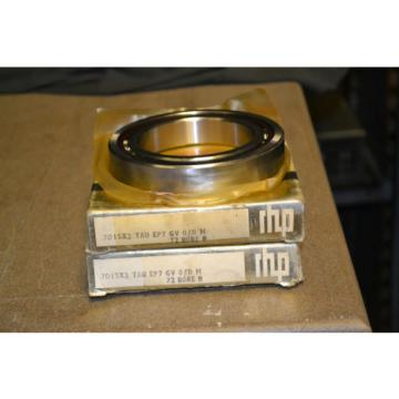 Inch Tapered Roller Bearing (Lot  M284148DW/M284111/284110D  of 2) RHP Preceision 9-7-5 Bearings, 7015X2 TAU EP7 GV 0/D M, 72 BORE B