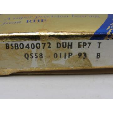 Industrial TRB RHP  500TQO729A-1  BSB040072 DUH Super Precision Angular Contact Ball Bearing