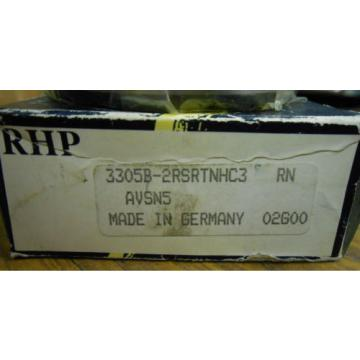 """Industrial TRB NEW  560TQO820-1  RHP BEARING 3305B-2RSRTNHC3  1"""".......... WQ-16"""