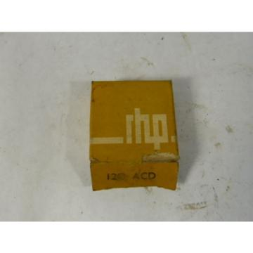 Belt Bearing RHP  1070TQO1400-1  120ACD Ball Bearing ! NEW !