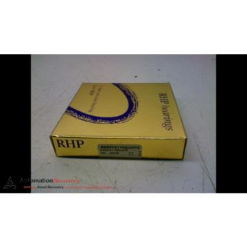 Inch Tapered Roller Bearing RHP  785TQO1040-1  BSB075110SUHP3 BEARING OD 4 1/4 INCH ID 3 INCH WIDTH 5/8 INCH, NEW #165001