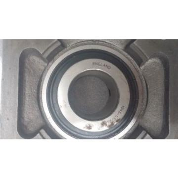 Inch Tapered Roller Bearing RHP  670TQO980-1  Flange Bearing M9F4 MSF 1045 -1.1/2  SF7 Cast Iron Self Lube 4 Hole LIKE NEW