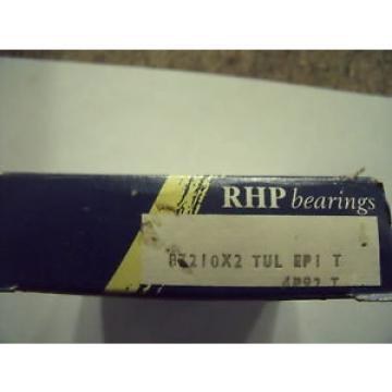 Belt Bearing NEW  1580TQO1960-1  RHP B7210X2TULEP1 Angular Contact Ball Bearing