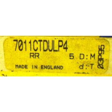 "Roller Bearing RHP  EE634356D-510-510D  BEARING ON BOX: 7011CTDULP4, ON BEARING: 7011CTSULP4, 3 1/2"" X 2 1/4"" X 3/4"""