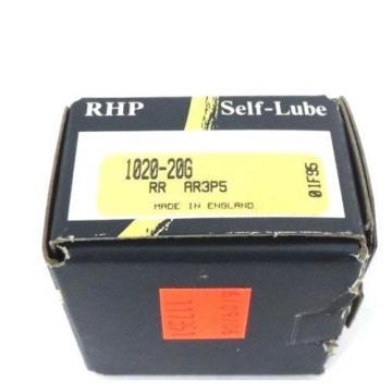 Tapered Roller Bearings NIB  680TQO1000-1  RHP 1020-20G SELF-LUBE BEARING INSERT SELF LUBE 20X47X14MM, 102020G