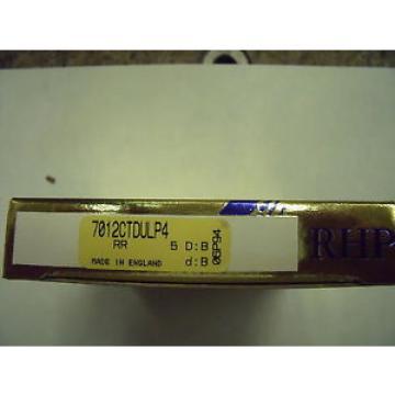 Belt Bearing NEW  EE641198D/641265/641266D  RHP 7012CTDULP4 Angular Contact Ball Bearing