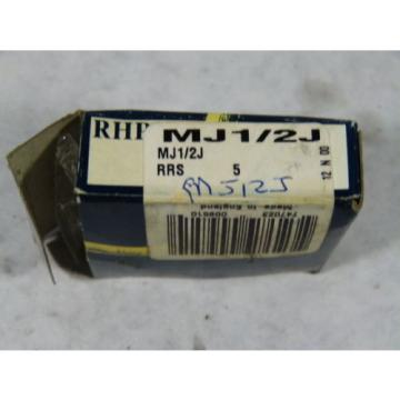 Roller Bearing RHP  670TQO960-1  MJ1/2J Single Groove Ball Bearing 12.7x41.275x15.88 ! NEW !
