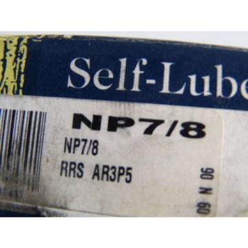 "Belt Bearing RHP  609TQO817A-1  NP7/8 Ball Bearing Pillow Block 7/8"" Bore ! NEW !"