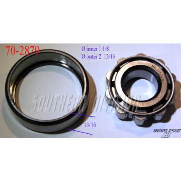 Belt Bearing Triumph  850TQO1220-1  BSA Crank roller bearing RHP 68-0625 70-2879 E2879 MRJA1 1/8 Rollenlager