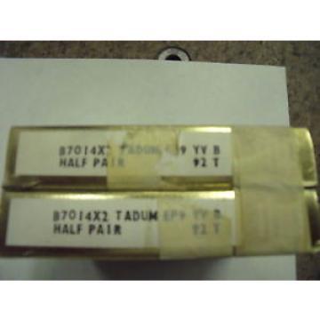 Belt Bearing NEW  M272647D/M272610/M272610D  RHP B7014X2TADUMEP9 Angular Contact Ball Bearing