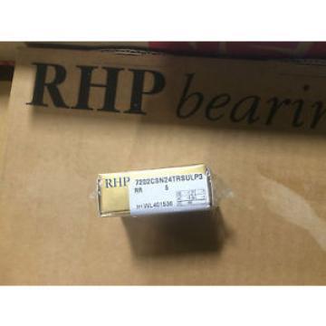 Tapered Roller Bearings RHP  730TQO1035-1   7202CSN24TRSULP3  ANGULARCONTACT BEARING.SUPER PRECISION.CERAMIC BALLS