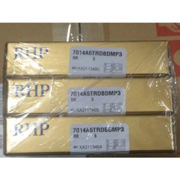 Industrial TRB RHP.  LM286249D/LM286210/LM286210D  7014A5TRDBDMP3.SUPER PRECISION BEARING. SET OF 3!