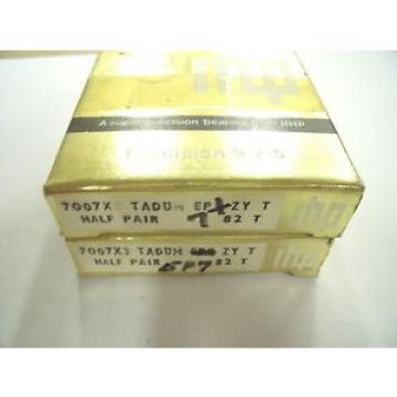 Tapered Roller Bearings NEW  680TQO870-1  RHP 7007X3TADUMEP7 Single row angular contact ball bearing