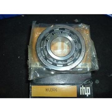 Inch Tapered Roller Bearing NU306  1370TQO1765-1  Bearing 30x72x19mm RHP Single Row Cylindrical Roller Bearing